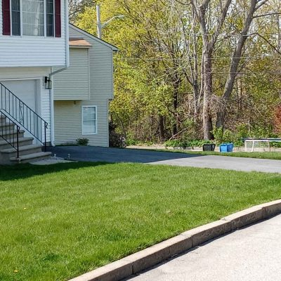 Cut And Edged Lawn